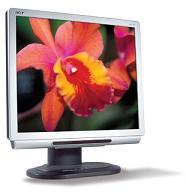 "Acer AL1721MS 17I LCD WITH SPEAKER DVI & ANALOG - TCO 99 SILVER + BLAC 17"" monitor piatto per PC"