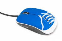 NGS Blue Sneaker USB Ottico 800DPI Ambidestro mouse