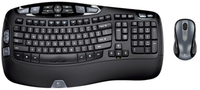Logitech CL DESK WAVE LASER RF Wireless Nero tastiera