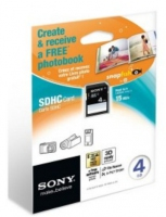 Sony SF4N4 + Photo Book 4GB SDHC Classe 4 memoria flash