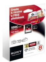 Sony SF8NX + Photo Book 8GB SDHC memoria flash