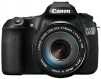 Canon EOS 60D + EF 18-55mm IS II + EF 55-250mm IS II Kit fotocamere SLR 18MP CMOS 5184 x 3456Pixel Nero