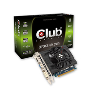 CLUB3D CGNX-XT55036ZI GeForce GTX 550 Ti 1.5GB GDDR3 scheda video