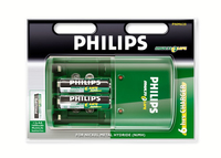 Philips MultiLife PNM620/03B Indoor battery charger Verde carica batterie