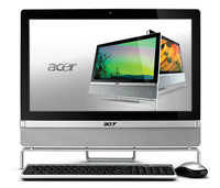 "Acer Aspire Z3801 2.5GHz i5-2400S 21.5"" 1920 x 1080Pixel Touch screen Argento"