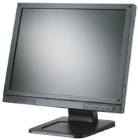 "Toshiba P1710A 17"" Nero monitor piatto per PC"