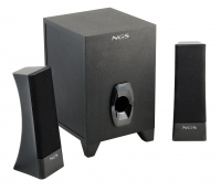 NGS Dust Devil 2.1 2.1canali 23W Nero set di altoparlanti