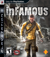 Sony InFamous, PS3 PlayStation 3 videogioco