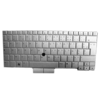 HP 649756-091 QWERTY Norvegese Argento tastiera
