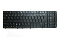 ASUS 348mm Isolation German QWERTY Tedesco Nero tastiera