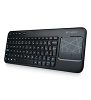 Logitech K400 RF Wireless QWERTY Inglese UK Nero tastiera