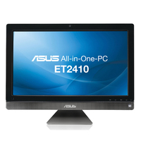 "ASUS ET ET2410ENTS-B001C 2.6GHz G620 23.6"" 1920 x 1080Pixel Touch screen Nero, Argento All-in-One PC"
