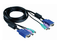 D-Link DKVM-CB3 10ft All-In-One KVM Cable 3m cavo per tastiera, video e mouse