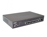 D-Link DES-3010PA Managed 8 x10/100 PoE Switch + 1 Gigabit Port + 1 SFP Slot Gestito L2 Supporto Power over Ethernet (PoE)
