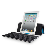 Logitech Tablet Keyboard f/ iPad Bluetooth AZERTY Francese Nero tastiera
