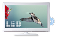 "Salora LED2227FH DVX WH 22"" Full HD Bianco LED TV"