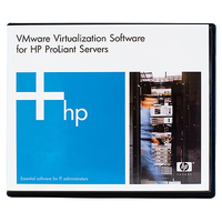 HP VMware vSphere Standard to Enterprise Upgrade for 1 Processor 1yr 9x5 Support License