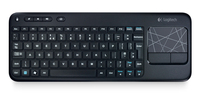Logitech K400 RF Wireless QZERTY Italiano Nero tastiera