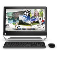 HP TouchSmart 520-1000be 2.7GHz i5-2390T Scrivania Nero PC