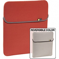"Case Logic 15.4"" Reversible Laptop Sleeve red 15.4"" Custodia a tasca Rosso"