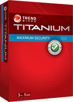 Trend Micro Titanium Maximum Security 2012, 1Y, 3U, IT 3utente(i) 1anno/i ITA