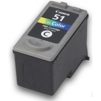 Canon CL-51 Color FINE Cartridge Ciano, Giallo cartuccia d
