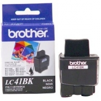 Brother LC-41BK Black Ink Cartridge Nero cartuccia d