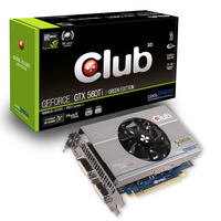 CLUB3D CGNX-XT56024G GeForce GTX 560 Ti 1GB GDDR5 scheda video
