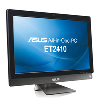 "ASUS ET ET2410EUTS-B01C 2.6GHz G620 23.6"" 1920 x 1080Pixel Touch screen Nero, Grigio All-in-One PC"