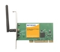 Netgear 108 Mbps Wireless PCI Adapter Interno 108Mbit/s scheda di rete e adattatore