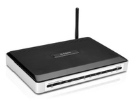 D-Link DVA-G3670B/WI Fast Ethernet Nero, Argento router wireless