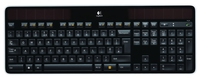 Logitech K750 RF Wireless QWERTY Norvegese Nero tastiera