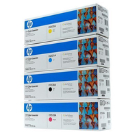 HP Toner Cartridge Bundel 2800pagine Nero, Ciano, Giallo