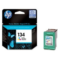 HP 134 Tri-color Ciano, Giallo cartuccia d