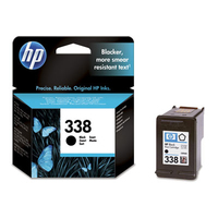 HP 338 Black Inkjet Print Cartridge Nero cartuccia d