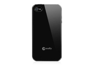 Macally Flexible case for iPhone 4S/4 Cover Nero