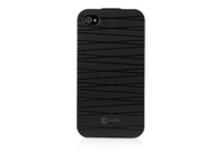 Macally Flip Cover Case f/ iPhone 4S/4 Cover Nero