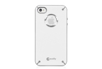 Macally Glow-in-the-dark f/ iPhone 4S/4 Cover Bianco