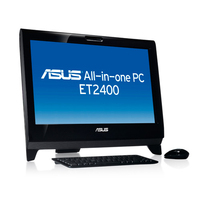 "ASUS ET ET2400IGTS-B074E 3.1GHz i3-2100 21.5"" 1920 x 1080Pixel Touch screen Nero All-in-One PC"