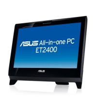 "ASUS ET ET2400XVT-B011E 1.73GHz 23.6"" 1920 x 1080Pixel Touch screen Nero All-in-One PC"