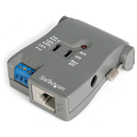 StarTech.com RS-232 to RS-485/422 Serial Interface Converter RJ11 Female/DB25 Female DB25 Female/RJ11 Female or 4 terminal block Grigio cavo di interfaccia e adattatore