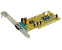 StarTech.com 1 Port PCI RS232 Serial Adapter Card scheda di interfaccia e adattatore