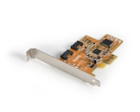 StarTech.com Dual Channel Serial ATA PCI Express Controller Card SATA scheda di interfaccia e adattatore