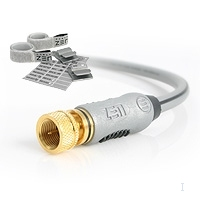 StarTech.com Cable ZEN 6.6 ft (2m) RF Coaxial Video Cable 2m Grigio cavo coassiale