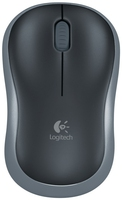Logitech M185 RF Wireless Ottico 1000DPI Nero mouse