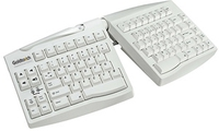 Goldtouch Putty USB QWERTY Inglese Bianco tastiera