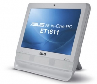 "ASUS ET ET1611PUT-W0100 1.8GHz D425 15.6"" 1366 x 768Pixel Touch screen Bianco PC All-in-one"