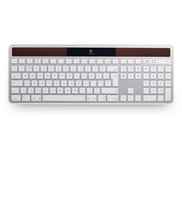 Logitech K750 RF Wireless AZERTY Francese Bianco tastiera