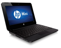 "HP Mini 110-3860sw 1.66GHz N455 10.1"" 1024 x 600Pixel Nero Netbook"
