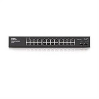 DELL PowerConnect 2824 Managed network switch L2/L3 Gigabit Ethernet (10/100/1000) 1U Nero